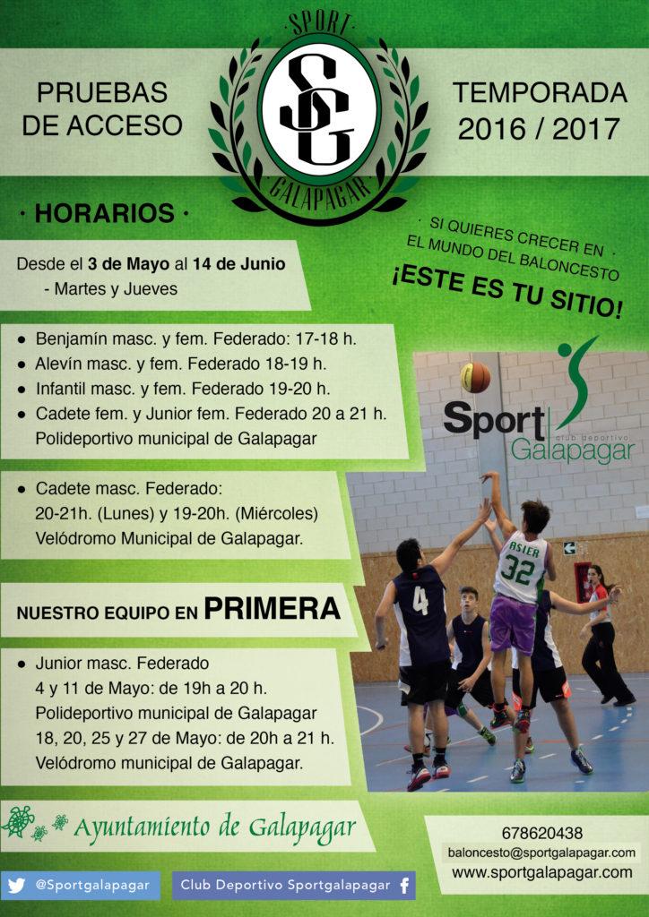 Pruebas-Baloncesto-sportgalapagar-temporada-2016-2017