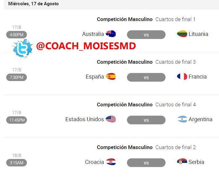 Previa: España vs Francia - Cuartos de Final Río 2016 - Baloncesto ...